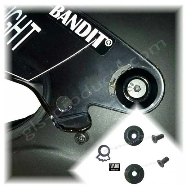 Bandit Helmets Visier Repair Kit